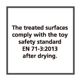 玩具証明EN71-3