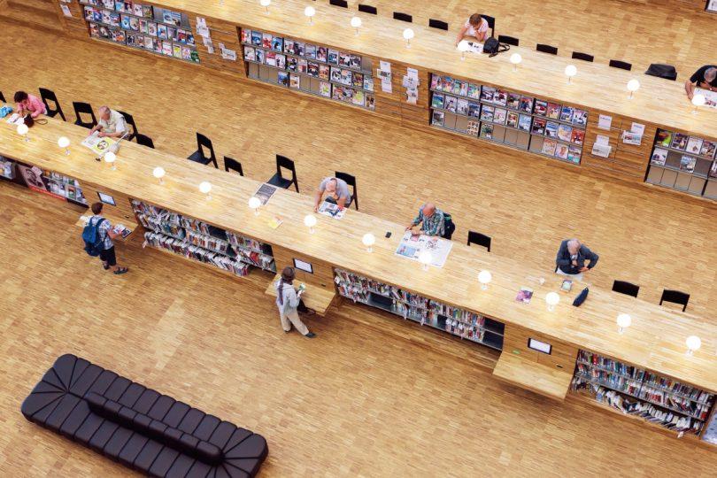 エミフイズ図書館(オランダ)